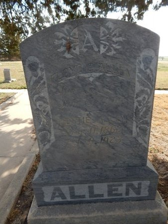 ALLEN, FLOYD AND LETTIE - Kay County, Oklahoma | FLOYD AND LETTIE ALLEN - Oklahoma Gravestone Photos