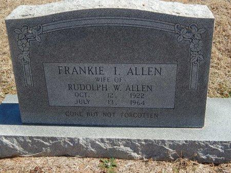 ALLEN, FRANKIE I - Kay County, Oklahoma | FRANKIE I ALLEN - Oklahoma Gravestone Photos