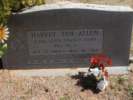 ALLEN, HARVEY TAH - Kay County, Oklahoma | HARVEY TAH ALLEN - Oklahoma Gravestone Photos
