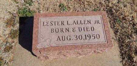 ALLEN, LESTER L JR - Kay County, Oklahoma | LESTER L JR ALLEN - Oklahoma Gravestone Photos