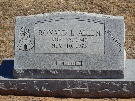 ALLEN, RONALD L - Kay County, Oklahoma | RONALD L ALLEN - Oklahoma Gravestone Photos