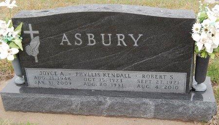 ASBURY, ROBERT S - Kay County, Oklahoma | ROBERT S ASBURY - Oklahoma Gravestone Photos