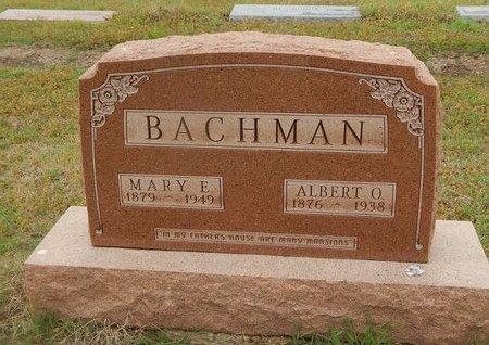 BACHMAN, ALBERT O - Kay County, Oklahoma | ALBERT O BACHMAN - Oklahoma Gravestone Photos
