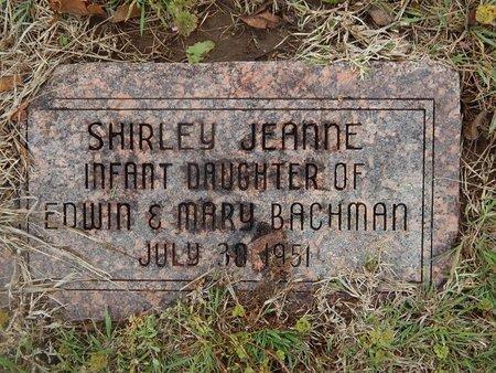 BACHMAN, SHIRLEY JEANNE - Kay County, Oklahoma | SHIRLEY JEANNE BACHMAN - Oklahoma Gravestone Photos