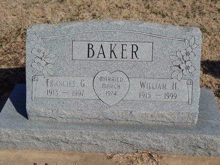 BAKER, FRANCIES G - Kay County, Oklahoma | FRANCIES G BAKER - Oklahoma Gravestone Photos