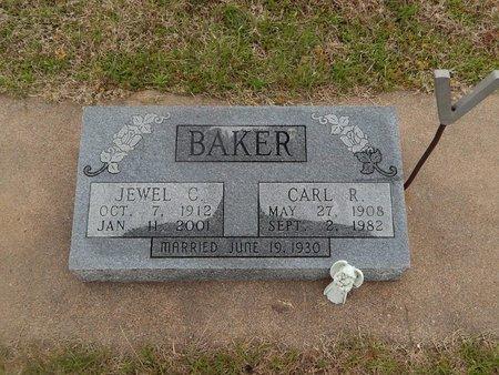 BAKER, JEWEL C - Kay County, Oklahoma   JEWEL C BAKER - Oklahoma Gravestone Photos