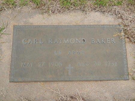 BAKER (VETERAN), CARL RAYMOND - Kay County, Oklahoma | CARL RAYMOND BAKER (VETERAN) - Oklahoma Gravestone Photos
