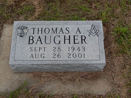 BAUGHER, THOMAS A - Kay County, Oklahoma | THOMAS A BAUGHER - Oklahoma Gravestone Photos