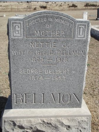 BELLMON, NETTIE J - Kay County, Oklahoma | NETTIE J BELLMON - Oklahoma Gravestone Photos
