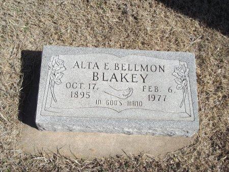 BELLMON BLAKEY, ALTA E - Kay County, Oklahoma   ALTA E BELLMON BLAKEY - Oklahoma Gravestone Photos