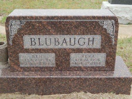 BLUBAUGH, VERA - Kay County, Oklahoma   VERA BLUBAUGH - Oklahoma Gravestone Photos