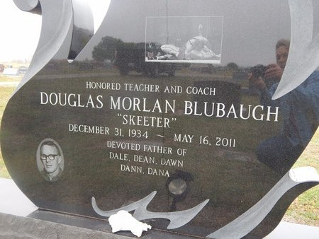 BLUBAUGH, DOUGLAS MORLAN (CLOSE-UP) - Kay County, Oklahoma | DOUGLAS MORLAN (CLOSE-UP) BLUBAUGH - Oklahoma Gravestone Photos