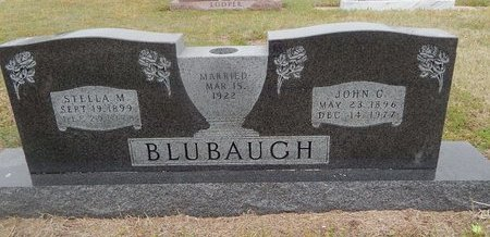 BLUBAUGH, STELLA M - Kay County, Oklahoma | STELLA M BLUBAUGH - Oklahoma Gravestone Photos