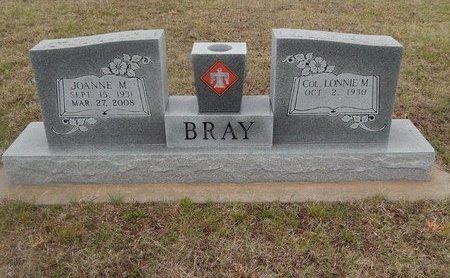 BRAY, JOANNE M - Kay County, Oklahoma | JOANNE M BRAY - Oklahoma Gravestone Photos