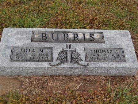 BURRIS, LULA M - Kay County, Oklahoma | LULA M BURRIS - Oklahoma Gravestone Photos