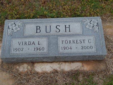 BUSH, VIRDA L - Kay County, Oklahoma | VIRDA L BUSH - Oklahoma Gravestone Photos
