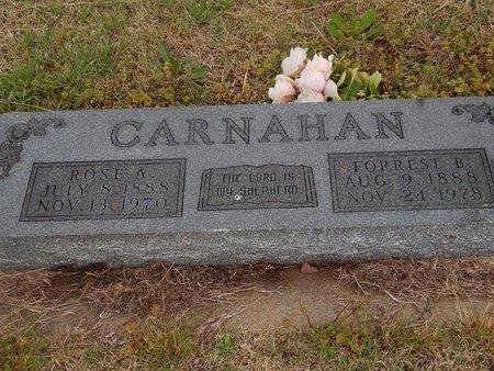 CARNAHAN, FORREST B - Kay County, Oklahoma | FORREST B CARNAHAN - Oklahoma Gravestone Photos