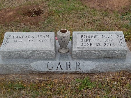 CARR, ROBERT MAX - Kay County, Oklahoma   ROBERT MAX CARR - Oklahoma Gravestone Photos