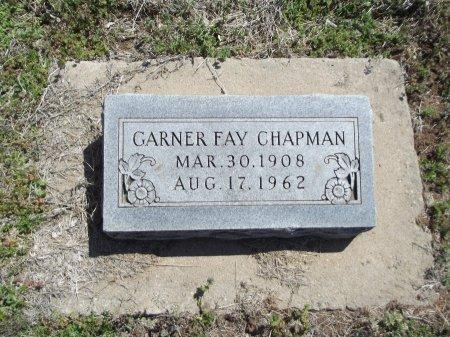 CHAPMAN, GARNER FAY - Kay County, Oklahoma | GARNER FAY CHAPMAN - Oklahoma Gravestone Photos