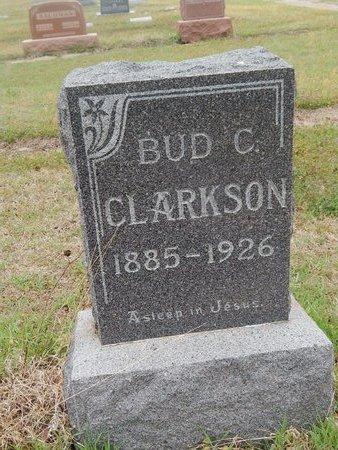 CLARKSON, BUD C - Kay County, Oklahoma   BUD C CLARKSON - Oklahoma Gravestone Photos