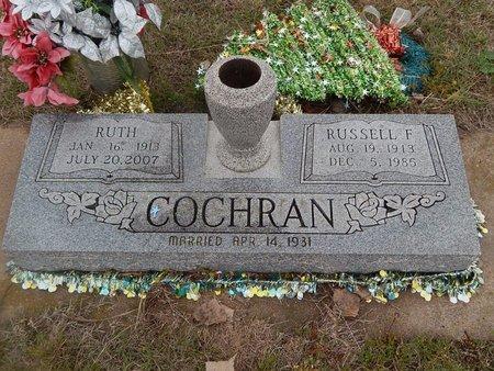 COCHRAN, RUSSELL F - Kay County, Oklahoma | RUSSELL F COCHRAN - Oklahoma Gravestone Photos