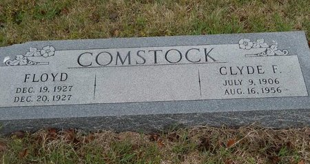 COMSTOCK, FLOYD - Kay County, Oklahoma   FLOYD COMSTOCK - Oklahoma Gravestone Photos