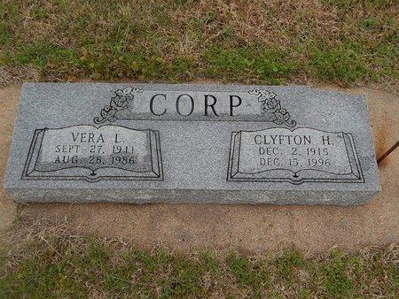 CORP, CLYFTON H - Kay County, Oklahoma | CLYFTON H CORP - Oklahoma Gravestone Photos
