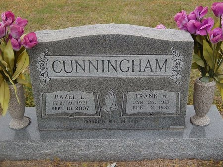 CUNNINGHAM, FRANK W - Kay County, Oklahoma | FRANK W CUNNINGHAM - Oklahoma Gravestone Photos