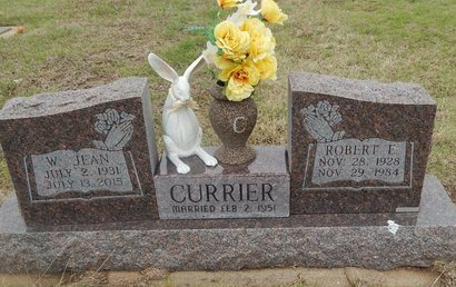 CURRIER, ROBERT L - Kay County, Oklahoma   ROBERT L CURRIER - Oklahoma Gravestone Photos