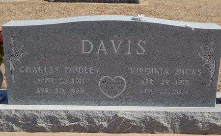 HICKS DAVIS, VIRGINIA - Kay County, Oklahoma | VIRGINIA HICKS DAVIS - Oklahoma Gravestone Photos