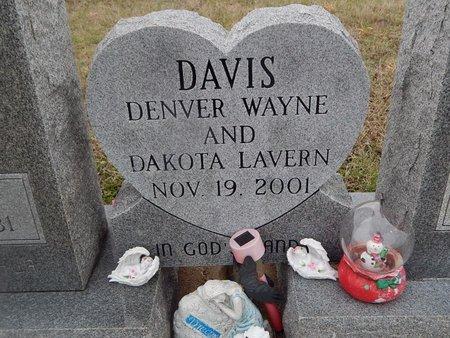 DAVIS, DENVER WAYNE - Kay County, Oklahoma | DENVER WAYNE DAVIS - Oklahoma Gravestone Photos