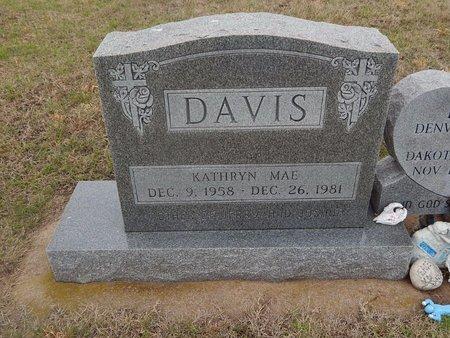 DAVIS, KATHRYN MAE - Kay County, Oklahoma | KATHRYN MAE DAVIS - Oklahoma Gravestone Photos