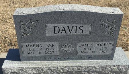 DAVIS, JAMES ROBERT - Kay County, Oklahoma | JAMES ROBERT DAVIS - Oklahoma Gravestone Photos