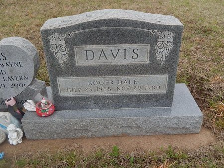 DAVIS, ROGER DALE - Kay County, Oklahoma   ROGER DALE DAVIS - Oklahoma Gravestone Photos
