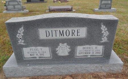 DITMORE, DORREL M - Kay County, Oklahoma | DORREL M DITMORE - Oklahoma Gravestone Photos