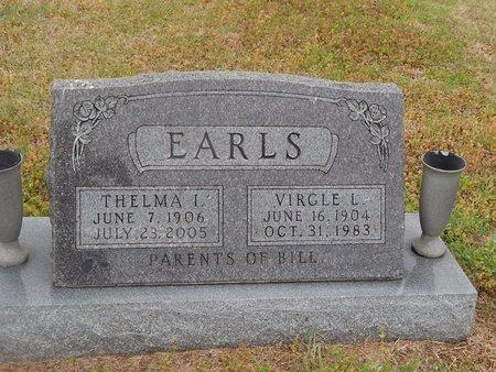 EARLS, THELMA I - Kay County, Oklahoma | THELMA I EARLS - Oklahoma Gravestone Photos