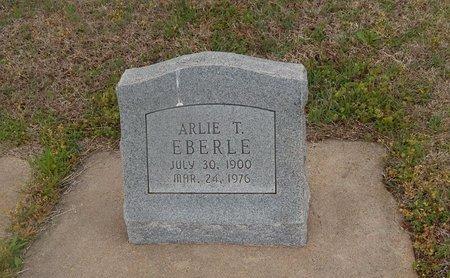 EBERLE, ARLIE T - Kay County, Oklahoma | ARLIE T EBERLE - Oklahoma Gravestone Photos