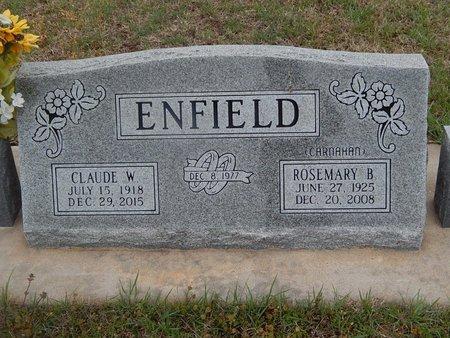 ENFIELD, ROSEMARY B - Kay County, Oklahoma | ROSEMARY B ENFIELD - Oklahoma Gravestone Photos