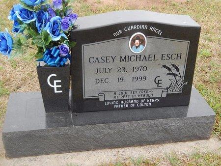 ESCH, CASEY ESCH - Kay County, Oklahoma | CASEY ESCH ESCH - Oklahoma Gravestone Photos