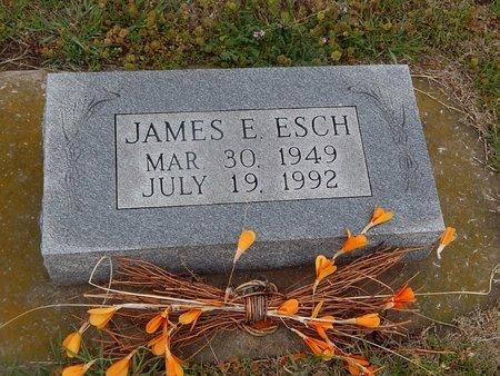 ESCH, JAMES E - Kay County, Oklahoma | JAMES E ESCH - Oklahoma Gravestone Photos