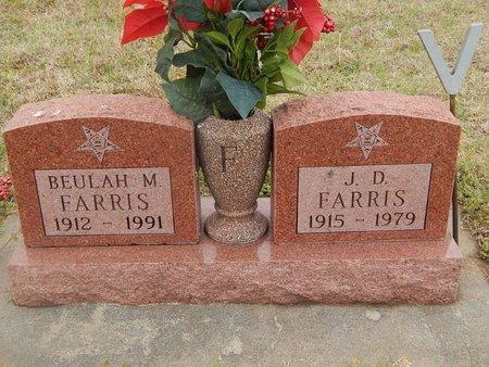FARRIS, J D - Kay County, Oklahoma   J D FARRIS - Oklahoma Gravestone Photos
