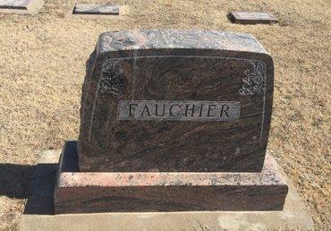 FAUCHIER, FAMILY MARKER - Kay County, Oklahoma | FAMILY MARKER FAUCHIER - Oklahoma Gravestone Photos