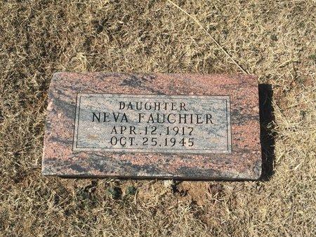 FAUCHIER, NEVA - Kay County, Oklahoma | NEVA FAUCHIER - Oklahoma Gravestone Photos