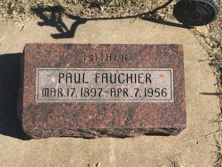 FAUCHIER, PAUL - Kay County, Oklahoma | PAUL FAUCHIER - Oklahoma Gravestone Photos