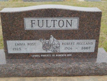 FULTON, ROBERT HOLLAND - Kay County, Oklahoma | ROBERT HOLLAND FULTON - Oklahoma Gravestone Photos
