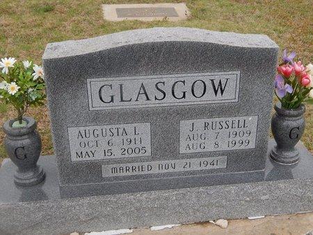 GLASGOW, J RUSSELL - Kay County, Oklahoma | J RUSSELL GLASGOW - Oklahoma Gravestone Photos