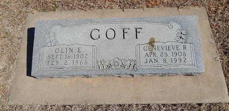 GOFF, OLIN E - Kay County, Oklahoma | OLIN E GOFF - Oklahoma Gravestone Photos