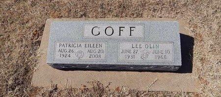 GOFF, LEE OLIN - Kay County, Oklahoma | LEE OLIN GOFF - Oklahoma Gravestone Photos