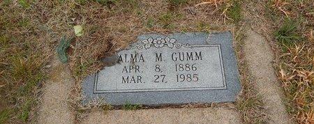 GUMM, ALMA M - Kay County, Oklahoma | ALMA M GUMM - Oklahoma Gravestone Photos