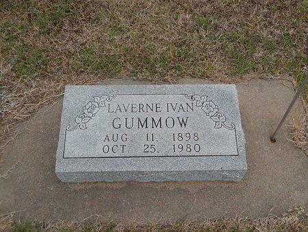 GUMMOW, LAVERNE IVAN - Kay County, Oklahoma | LAVERNE IVAN GUMMOW - Oklahoma Gravestone Photos